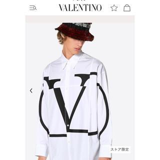 ヴァレンティノ(VALENTINO)のヴァレンティノ オーバーサイズシャツ 定価約10万(シャツ)