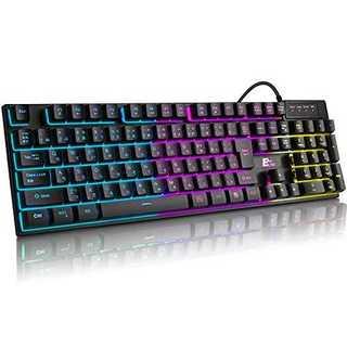 ELTD ゲーミングキーボード ゲーム キーボード usb ゲームキーボード 7