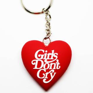 ジーディーシー(GDC)の赤 girls don't cry 3D heart keyholder GDC(キーホルダー)