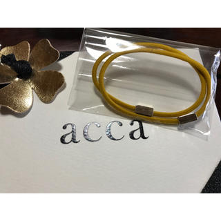 acca - acca♡カラーリングゴム 黄色