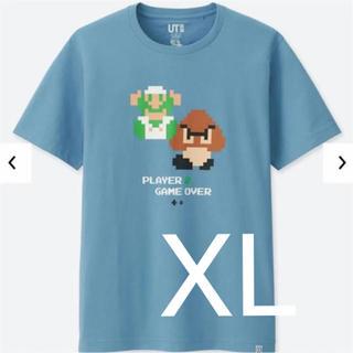 UNIQLO - スーパーマリオブラザーズ Tシャツ ルイージ×クリボー