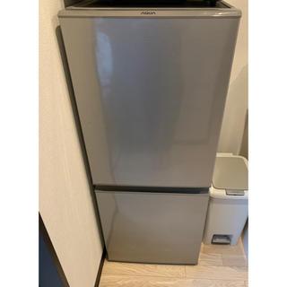 AQUA 2ドア冷蔵庫 AQR-13H(S) 2018年製
