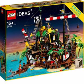 Lego - 新品 レゴ (LEGO) アイデア 赤ひげ船長の海賊島 21322 ブロック