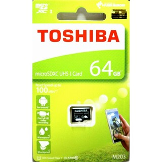 東芝 - 東芝 マイクロSDカード 64GB