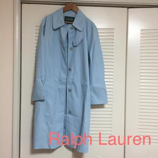 Ralph Lauren - 【未使用】ラルフローレンRalph Laurenスプリングコート水色