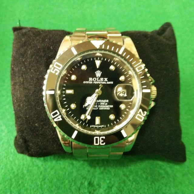 ロレックス風クォーツ式腕時計 メンズの時計(腕時計(アナログ))の商品写真