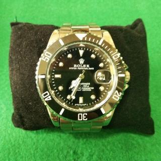 ロレックス風クォーツ式腕時計