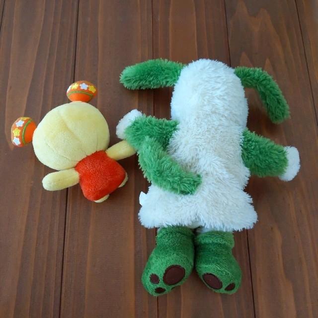 ワンワン うーたん いないいないばあ ぬいぐるみ パペット キッズ/ベビー/マタニティのおもちゃ(ぬいぐるみ/人形)の商品写真
