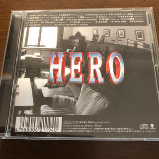 「HERO」映画版 オリジナル・サウンドトラック(映画音楽)