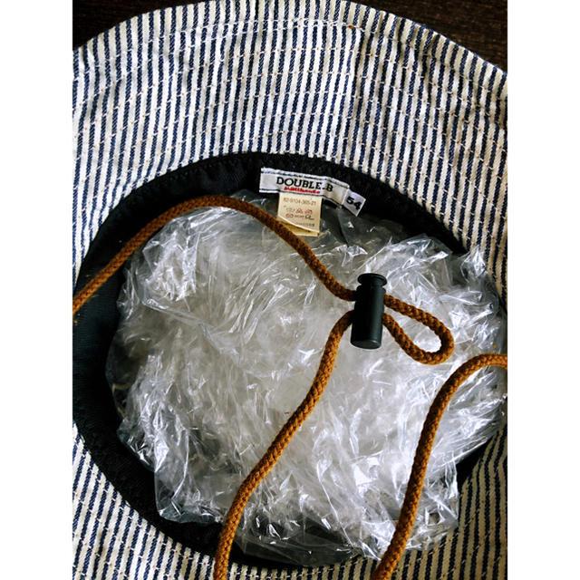 DOUBLE.B(ダブルビー)のmikihouse DOUBLE.B帽子値下げ✨ キッズ/ベビー/マタニティのこども用ファッション小物(帽子)の商品写真