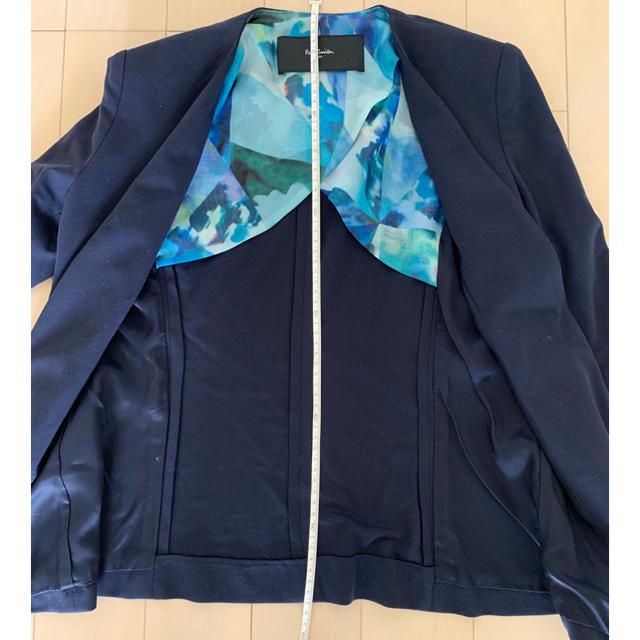 Paul Smith(ポールスミス)のポールスミス ノーカラージャケット ネイビー レディースのジャケット/アウター(ノーカラージャケット)の商品写真