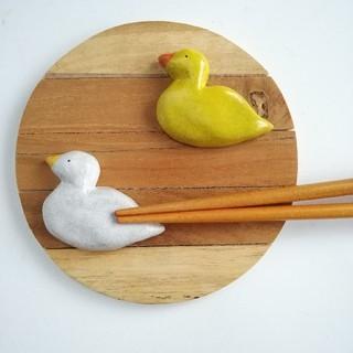 アヒルちゃん 箸置きセット(キッチン小物)
