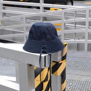アンユーズド(UNUSED)のUNUSED Lace up Hat(ハット)