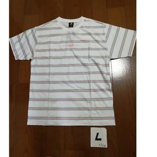 ニューバランス(New Balance)の20春夏モデル‼️new balanceサイズL (USA M)ボーダーT 白(Tシャツ/カットソー(半袖/袖なし))