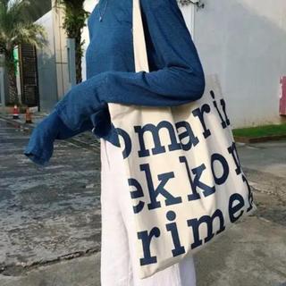 marimekko - マリメッコ トートバッグ ブルー