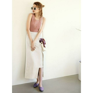 GRL - 新品GRLグレイルラップ風スリットタイトスカート