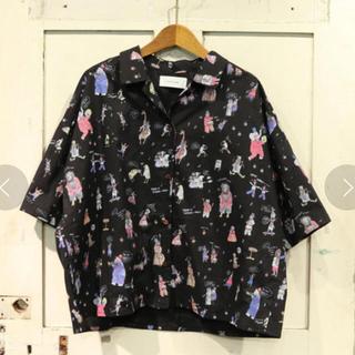 リベットアンドサージ(rivet & surge)の新品♡リベット&サージ♡アニマルプリントシャツ(シャツ/ブラウス(半袖/袖なし))