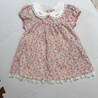motherways - ベビー ワンピース ピンク 80