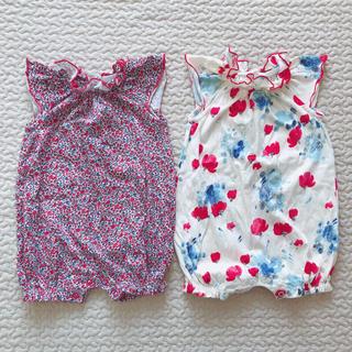 【next baby】ロンパース2枚セット 3〜6m