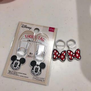ディズニー(Disney)の上履きタグ ミッキーミニー(ネームタグ)