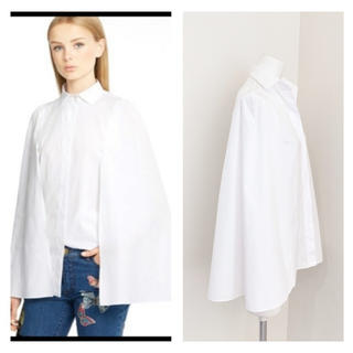 VALENTINO - VALENTINO ケープデザイン コットンシャツ
