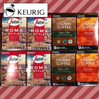 オガワコーヒー(小川珈琲)のキューリグ K-cup カプセル 3種 8箱セット  送料込み(コーヒー)