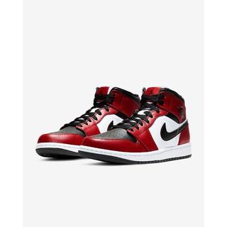 "NIKE - AIR JORDAN 1 MID ""Chicago Black Toe"""