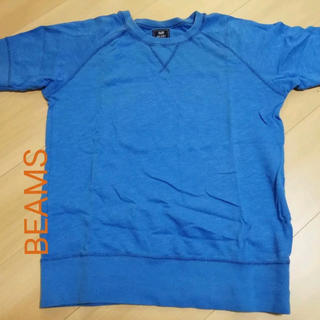 ビームス(BEAMS)の半袖スウェット生地 Mサイズ  BEAMS(Tシャツ/カットソー(半袖/袖なし))