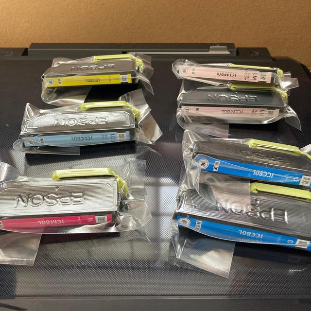 EPSON(エプソン)のEPSON プリンター EP-807AB BLACK スマホ/家電/カメラのPC/タブレット(PC周辺機器)の商品写真