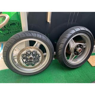 ゼファー750 タイヤ ホイール