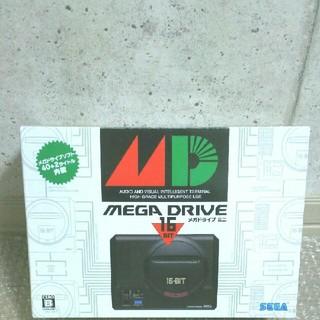 SEGA - SEGA『メガドライブミニ』メガドライブソフト40+2タイトル内蔵 ゲーム機