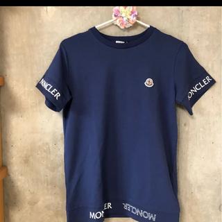 MONCLER - 即売れ★正規品★モンクレール★半袖ロゴTシャツネイビー