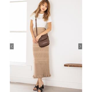 GRL - GRL 透かし編みニットスカート