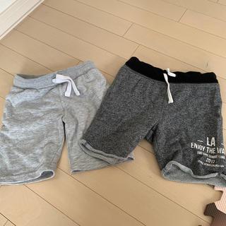 H&M - H&M スエット パンツ 半ズボン 2枚セット