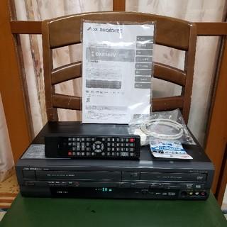 12年新品同様完動超美品!DXアンテナVHS/DVDレコーダーDXR-160V(DVDレコーダー)