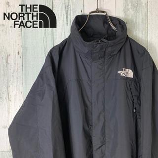 THE NORTH FACE - 【袖ロゴ】ノースフェイス メンズ 海外限定 ナイロン ジャケット 黒