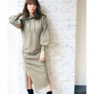 snidel - 【新品】ハーリップトゥDropped Shoulder Hoodie Dress