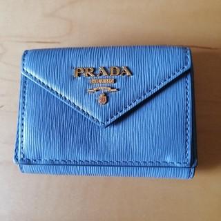 PRADA - プラダ☆ミニ財布☆ブルー