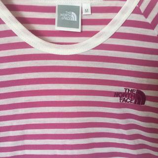 ザノースフェイス(THE NORTH FACE)のノースフェイス ボーダー Tシャツ レディース(Tシャツ(半袖/袖なし))