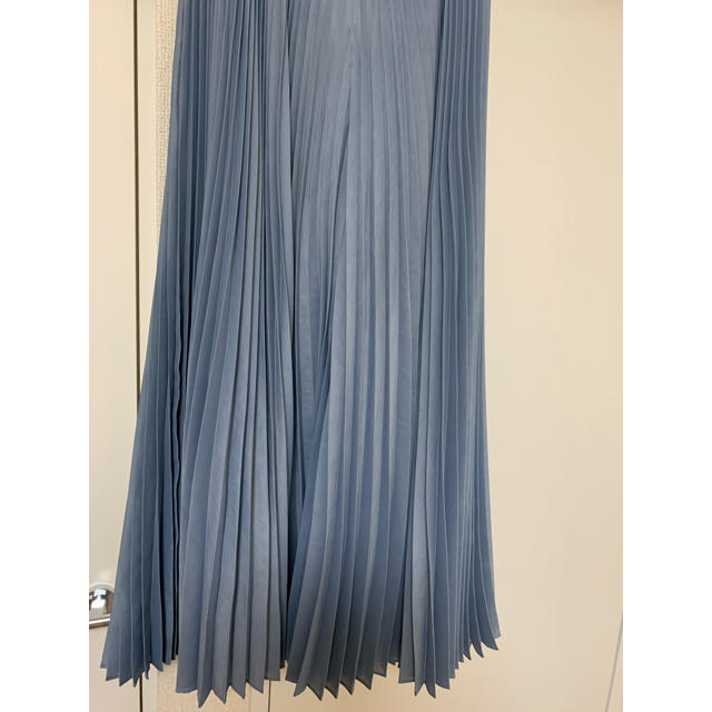 FRAY I.D(フレイアイディー)のFRAY I.D プリーツパンツ ブルー レディースのパンツ(カジュアルパンツ)の商品写真