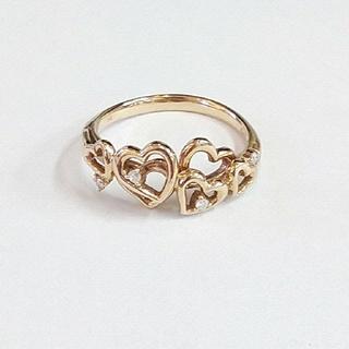 サマンサタバサ(Samantha Thavasa)のサマンサK18YGダイヤモンドリング(リング(指輪))