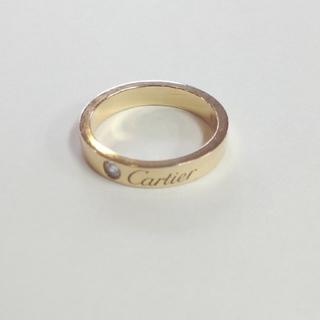 Cartier - カルティエK18&ダイモンドリング