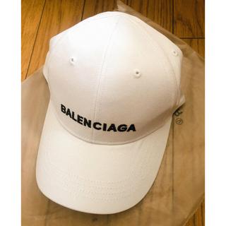 Balenciaga - 未使用品 キャップ White