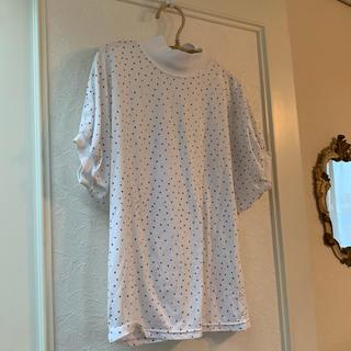 BEAMS - ドット Tシャツ 古着