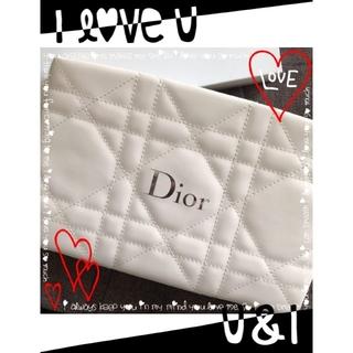 Dior - ❤︎.*Dior❤︎.*大人気Whiteふわふわ❤︎.*Whiteポーチ❤︎.*