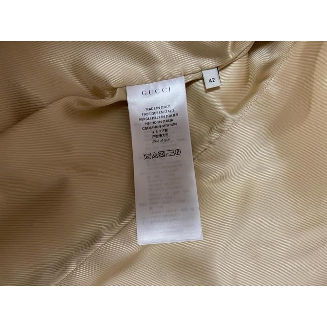 Gucci(グッチ)のGUCCI コート 正規品 新品未使用! レディースのジャケット/アウター(ロングコート)の商品写真