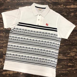 アダバット(adabat)の新品 adabat アダバット 半袖ポロシャツ ゴルフウェア 父の日 LLサイズ(ポロシャツ)