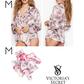 Victoria's Secret - VS定価¥11,150 3点(サテンラップトップ/スリッパ/アイマスク)セット