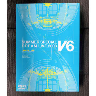 V6 LOVE&LIFE 初回限定生産 DVD