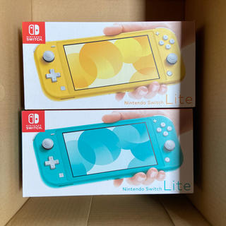 Nintendo Switch - Nintendo Switch Lite イエロー&ターコイズ セット